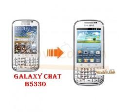 Cambiar Pantalla Tactil (cristal) Samsung Chat B5330 - Imagen 1