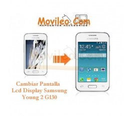 Cambiar Pantalla Lcd Display Samsung Galaxy Young 2 G130 - Imagen 1
