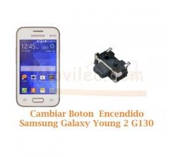 Cambiar Boton Encendido Samsugn Galaxy Young 2 G130 - Imagen 1