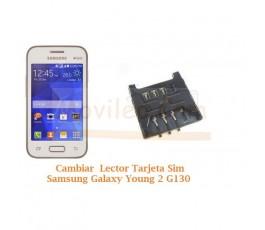 Cambiar Lector Tarjeta Sim Samsung Galaxy Young 2 G130 - Imagen 1
