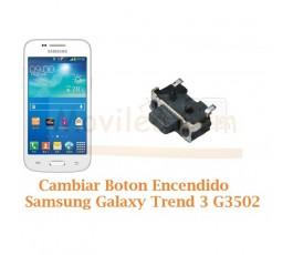 Cambiar Boton Encendido Samsung Galaxy Trend 3 G3502 - Imagen 1