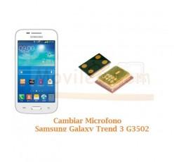 Cambiar Microfono Samsung Galaxy Trend 3 G3502 - Imagen 1