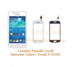 Cambiar Pantalla Tactil Cristal Samsung Galaxy Trend 3 G3502 - Imagen 1