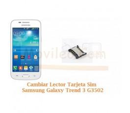 Cambiar Lector Tarjeta Sim Samsung Galaxy Trend 3 G3502 - Imagen 1