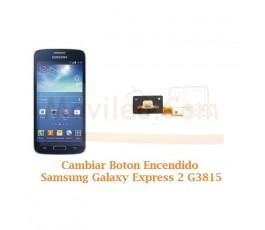 Cambiar Boton Encendido Samsung Galaxy  Express 2 G3815 - Imagen 1