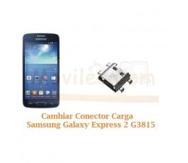 Cambiar Conector Carga Samsung Galaxy Express 2 G3815 - Imagen 1