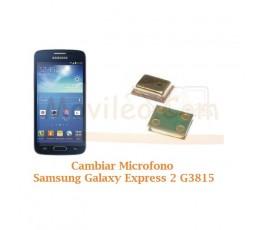 Cambiar Microfono Samsung Galaxy Express 2 G3815 - Imagen 1