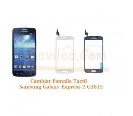 Cambiar Pantalla Tactil Cristal Samsung Galaxy Express 2 G3815 - Imagen 1