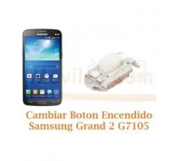 Cambiar Boton Encendido Samsung Galaxy Grand 2 G7105 - Imagen 1