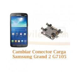 Cambiar Conector Carga Samsung Galaxy Grand 2 G7105 - Imagen 1