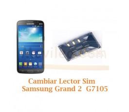 Cambiar Lector Tarjeta Sim Samsung Galaxy Grand 2 G7105 - Imagen 1