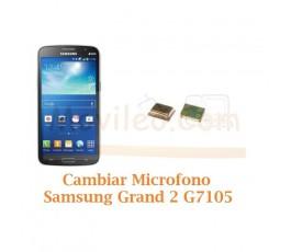 Cambiar Microfono Samsung Galaxy Grand 2 G7105 - Imagen 1