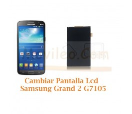 Cambiar Pantalla Lcd Display Samsung Galaxy Grand 2 G7105 - Imagen 1