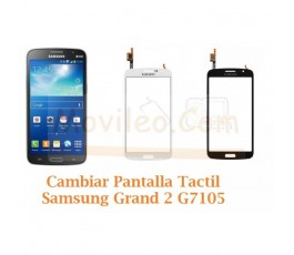 Cambiar Pantalla Tactil Cristal Samsung Galaxy Grand 2 G7105 - Imagen 1