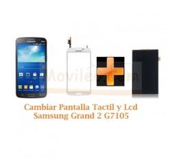 Cambiar Pantalla Tactil + Lcd Samsung Galaxy Grand 2 G7105 - Imagen 1
