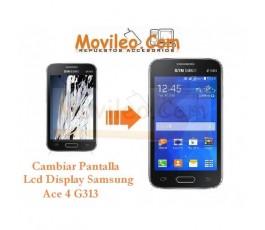 Cambiar Pantalla Lcd Display para Samsung Galaxy Ace 4 G313 G313F - Imagen 1