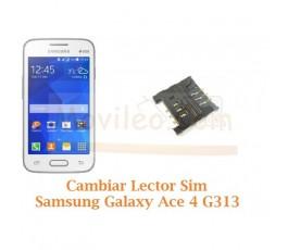 Cambiar Lector Tarjeta Sim Samsung Galaxy Ace 4 Lite G313 - Imagen 1