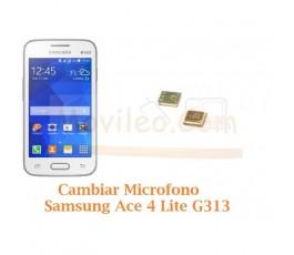 Cambiar Microfono Samsung Galaxy Ace 4 Lite 4 G313 - Imagen 1