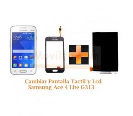Cambiar Pantalla Tactil + Lcd Samsung Galaxy Ace 4 Lite G313 - Imagen 1