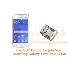 Cambiar Lector Sim Samsung Galaxy Core Plus G350 - Imagen 1