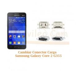 Cambiar Conector Carga Samsung Galaxy Core 2 G355 - Imagen 1