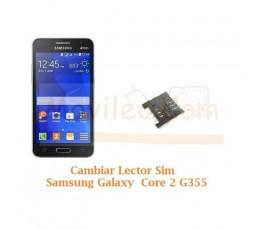 Cambiar Lector Sim Samsung Galaxy Core 2 G355 - Imagen 1
