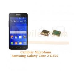 Cambiar Microfono Samsung Galaxy Core 2 G355 - Imagen 1