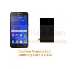 Cambiar Pantalla Lcd Display Samsung Galaxy Core 2 G355 - Imagen 1