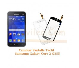 Cambiar Pantalla Tactil Cristal Samsung Galaxy Core 2 G355 - Imagen 1
