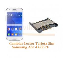 Cambiar Lector Sim Samsung Galaxy Ace 4 G357F - Imagen 1