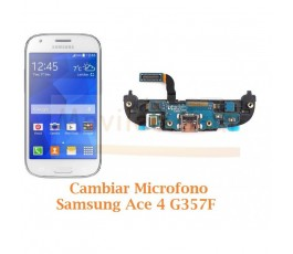 Cambiar Microfono Samsung Galaxy Ace 4 G357F - Imagen 1