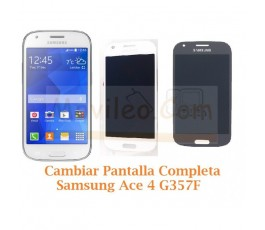 Cambiar Pantalla Completa Samsung Galaxy Ace 4 G357F - Imagen 1