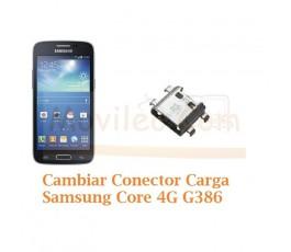 Cambiar Conector Carga Samsung Galaxy Core 4G G386f - Imagen 1