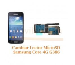Cambiar Lector MicroSD Samsung Galaxy Core 4G G386F - Imagen 1