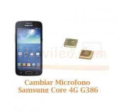 Cambiar Microfono Samsung Galaxy Core 4G G386F - Imagen 1