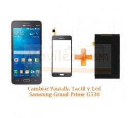 Cambiar Pantalla Tactil y Lcd Display Samsung Grand Prime G530F - Imagen 1