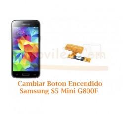 Cambiar Boton Encendido Samsung Galaxy S5 Mini G800F - Imagen 1