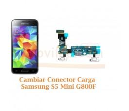 Cambiar Conector Carga Samsung Galaxy S5 Mini G800F - Imagen 1