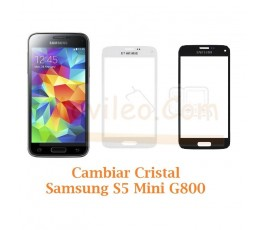 Cambiar Cristal Samsung Galaxy S5 Mini G800F - Imagen 1