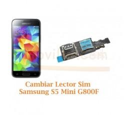 Cambiar Lector Tarjeta Sim Samsung Galaxy  S5 Mini G800F - Imagen 1