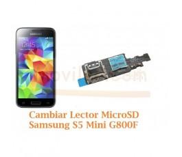 Cambiar Lector MicroSD Samsung Galaxy S5 Mini G800F - Imagen 1