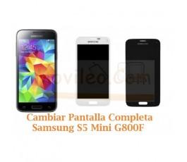 Cambiar Pantalla Completa Samsung Galaxy S5 Mini G800F - Imagen 1