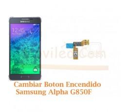 Cambiar Boton Encendido Samsung Galaxy Alpha G850F - Imagen 1