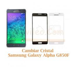 Cambiar Cristal Samsung Galaxy Alpha G850F - Imagen 1