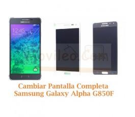 Cambiar Pantalla Completa Samsung Galaxy Alpha G850F - Imagen 1