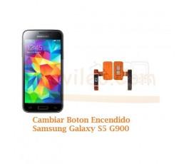 Cambiar Boton Encendido Samsung Galaxy S5 G900F - Imagen 1