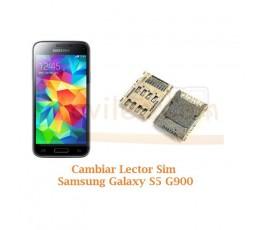 Cambiar Lector Tarjeta Sim Samsung Galaxy S5 G900F - Imagen 1