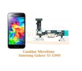 Cambiar Microfono Samsung Galaxy S5 G900F - Imagen 1