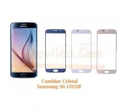 Cambiar Cristal Samsung Galaxy S6 G920F - Imagen 1