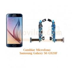 Cambiar Microfono Samsung Galaxy S6 G920F - Imagen 1